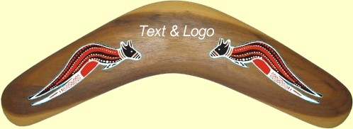 corporate gift - boomerang with your logo