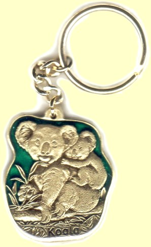 Quality koala key chains