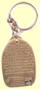 Quality kangaroo key chain with kangaroo facts