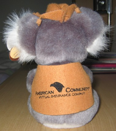 corporate koala toy with waltzing matilda song
